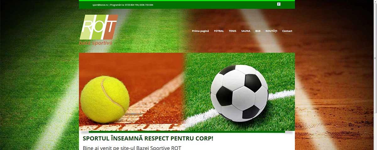 Creare site web & optimizare site: portofoliu - webdesign (bsrot)