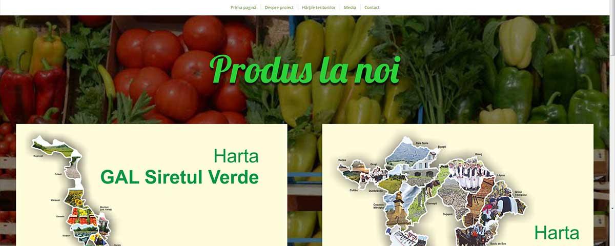 Creare site web & optimizare site: portofoliu - webdesign (produslanoi)