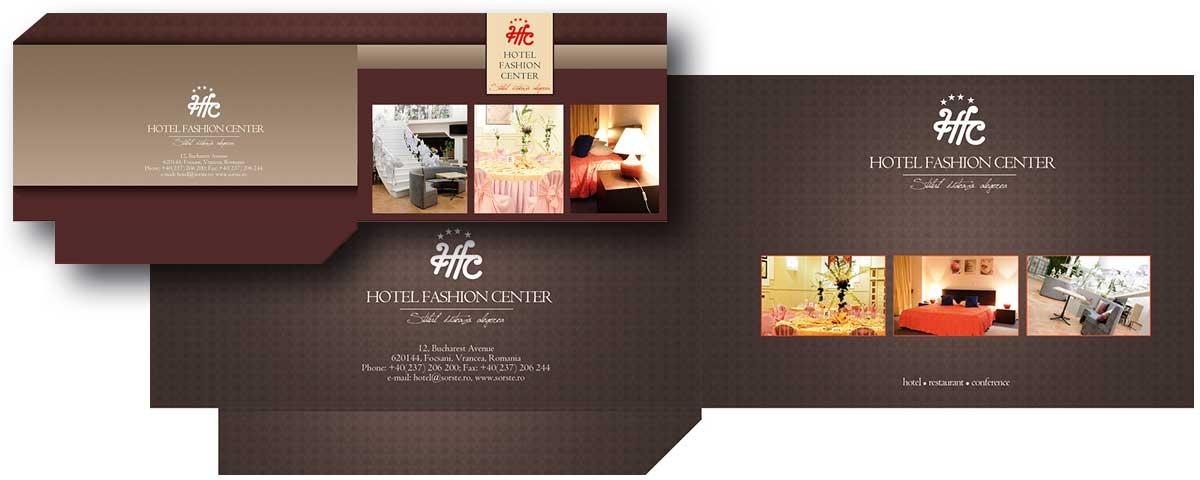 Creare site web & optimizare site: portofoliu - graphic design (tipizate Fashion Center)