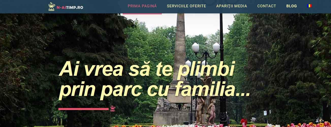 Creare site web (web design): n-aitimp.ro